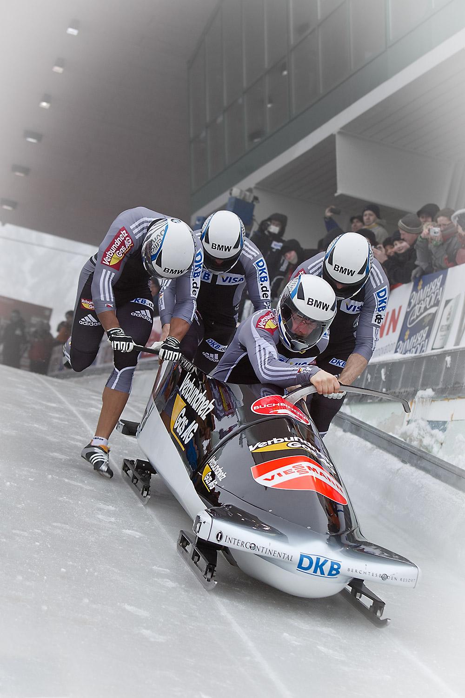 Weltcup und Europameisterschaft  Bob und Skeleton Winterberg  20