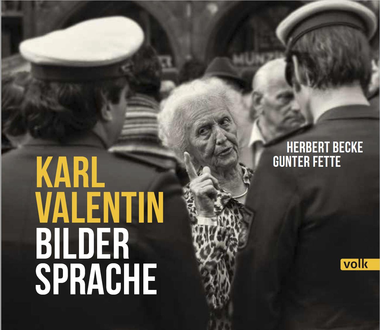 "Titel Fotobuch ""Karl Valentin Bilder-Sprache"""